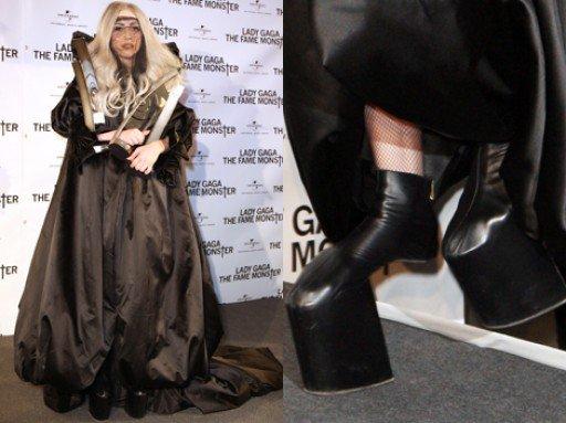 le top lady gaga de l'année 2010