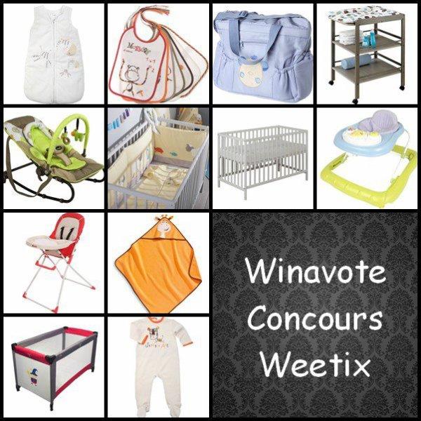 Winavote Concours Weetix.
