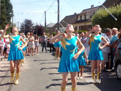 défilé d'Ansennes 2 août 2015