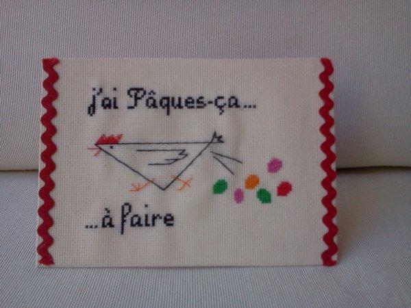 BONNES FETES DE PAQUES