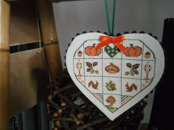 """DEFI 2015 Coeur """" automne """""""