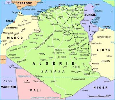 Climat en Algerie