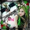 Me revoilà x) avec un jolie blingee d'Avril Lavigne dans Smile !!!
