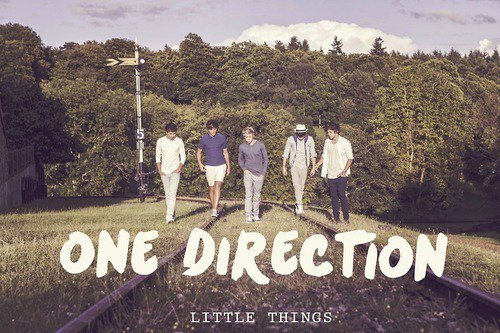One Direction - Little Things (Lyric Video)
