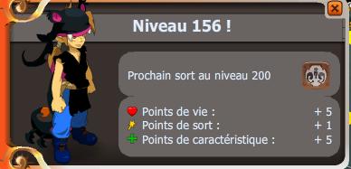 Juste pour vous dire up 156 ! :)