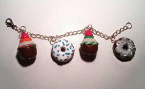 Bracelet Donuts&Cupcakes