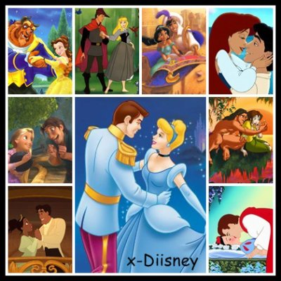 Les Couples ~ Walt Disney