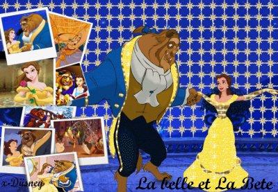 La Belle et La Bete ~ Walt Disney