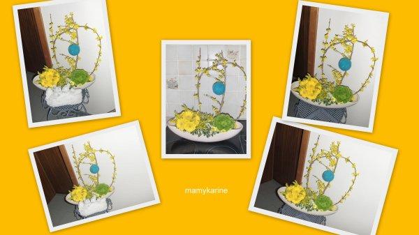Ma participation au concours de l'atelier floral n°33