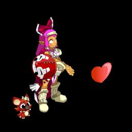 Elva-yomi, la petite Iopette rose!