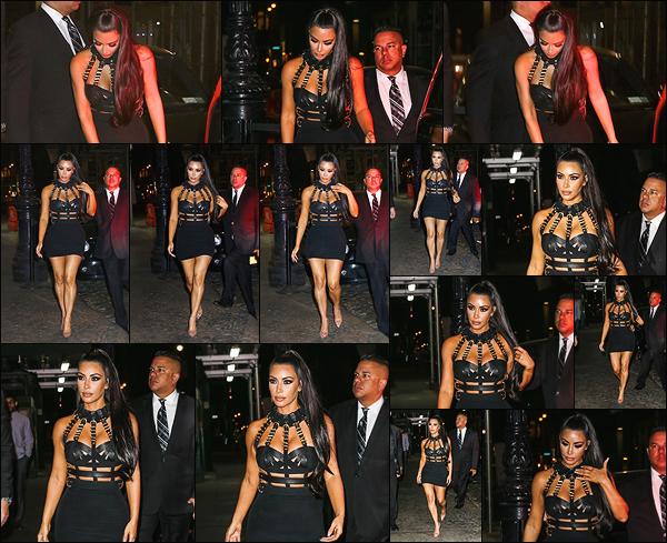 - -• 07/05/18-' : Kim Kardashian a été vue marchant en direction de la « MET Gala After Party » se déroulant à New York.Pour cette after party, Kim K. porte une fois de plus un ensemble signé Versace. 'Elle est juste magnifique dans celui-ci, et comme toujours, c'est un top ! -