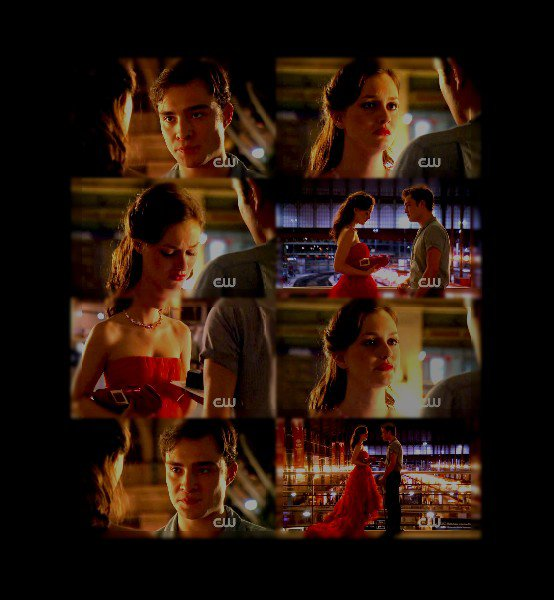 27.09.10............................Gossip Girl; s04e02; Double Identity: Blair&Chuck FTW! This is their best scene so far; they have so much chemistry! And what about the dress? It's a masterpiece! I think I might like GG again !