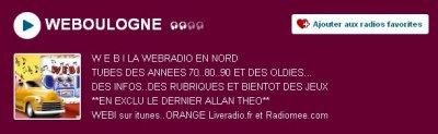 """""""Je dérive"""" en diffusion sur la webradio Weboulogne !"""