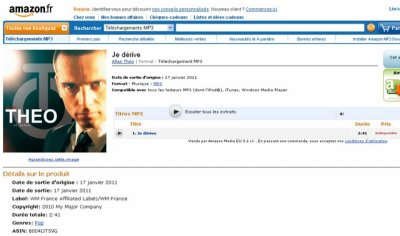 """""""Je dérive"""", disponible en téléchargement sur Amazon !"""