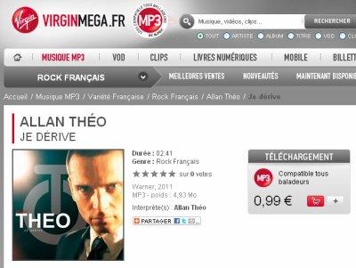 """""""Je dérive"""", disponible en téléchargement sur Virgin Mega"""