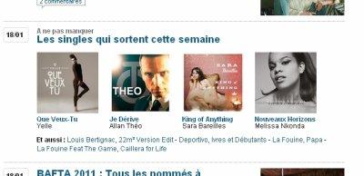 """La sortie du single """"Je dérive"""" sur ozap.com"""