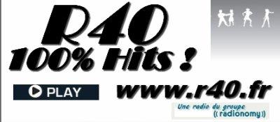 """""""Je dérive"""", le single d'Allan est n° 2 au Hit des singles de R40 cette semaine !"""