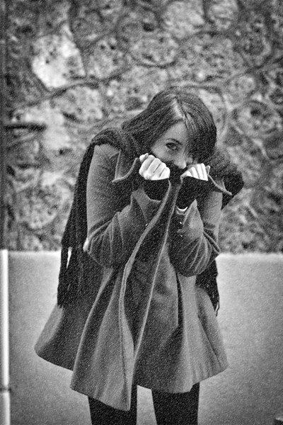 """Shoot partie 2 """"Blanche's Modéls"""" théme hiver par Detlev Philothée"""