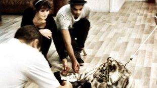 SCOOP, Un tigre dans Danse avec les Stars!!!!!