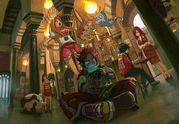 Sommaire de Fairy Tail!