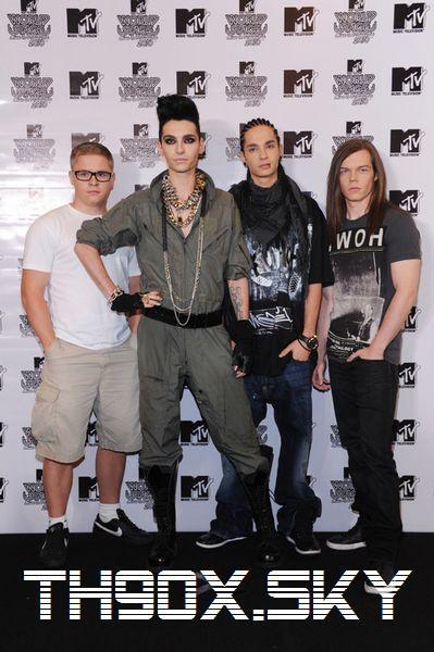 Tokio Hotel en Asie et en Allemagne leurs maison est victime de vol
