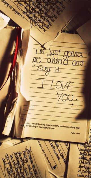 9 février 2012, 22h32  Je voudrais te marier, écriture !