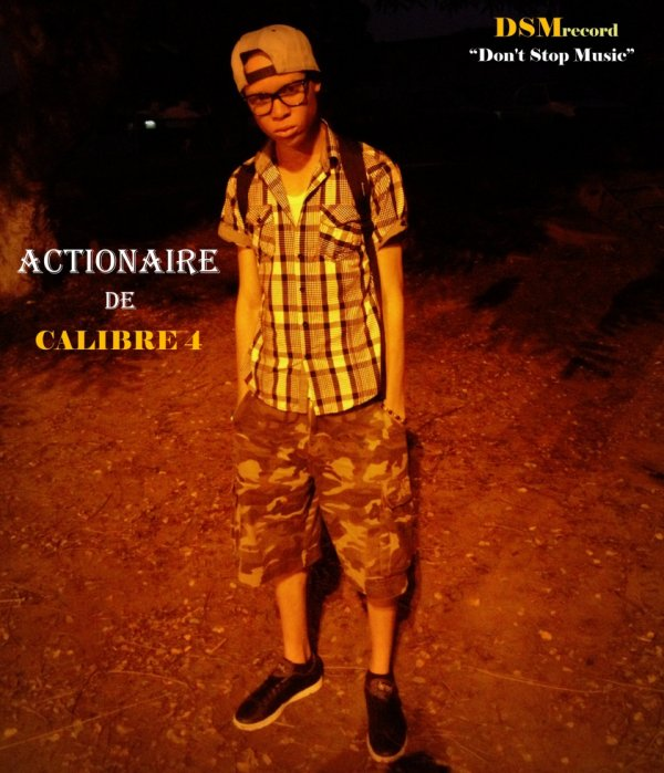 Actionaire du goupe de rap CALIBRE 4