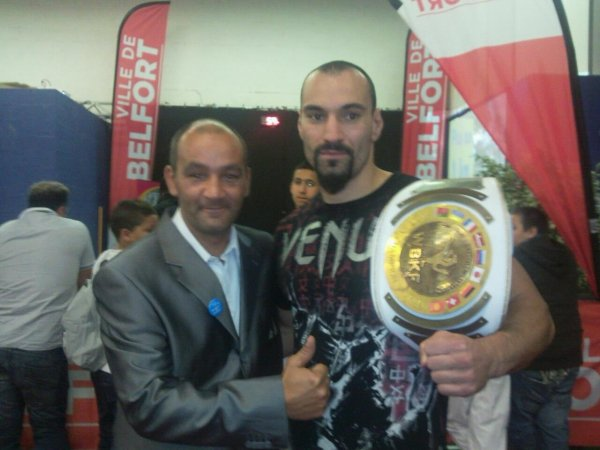 DAVID RADEFF le Champion du Monde 2011 de KICK BOXING