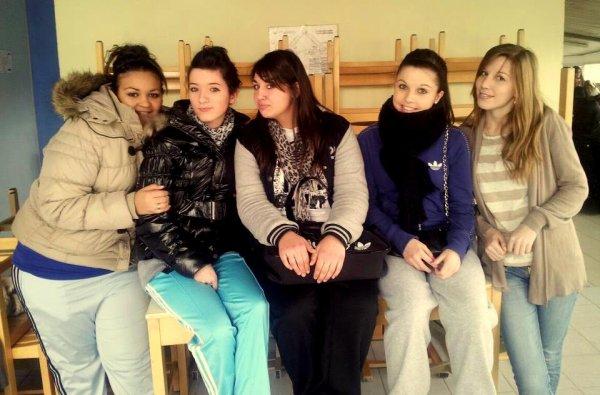 Amelle , Laurie , Céline & Elodie .. ♥