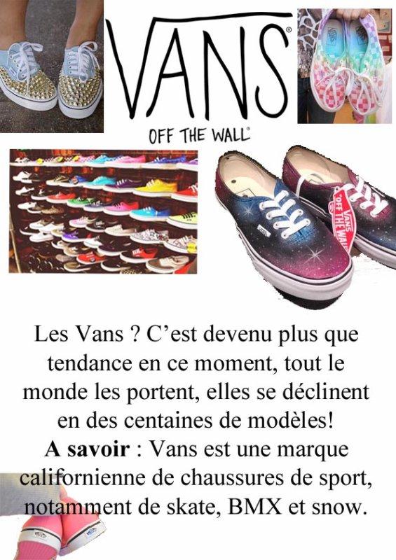 Les Vans !