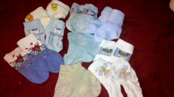 Et voici tes premiers vêtements !!!