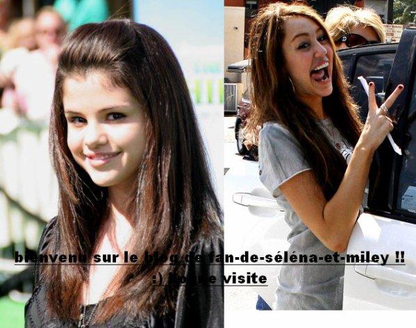- Bιєиνєиυє Đαиѕ Łє Mσи∂є Đє Miley Cyrus et Séléna Gomez : )-