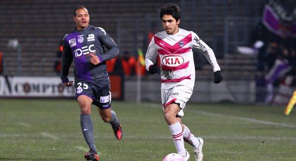Maillot 2011-2012 Porté par Cheikh Diabaté contre Toulouse en Ligue 1