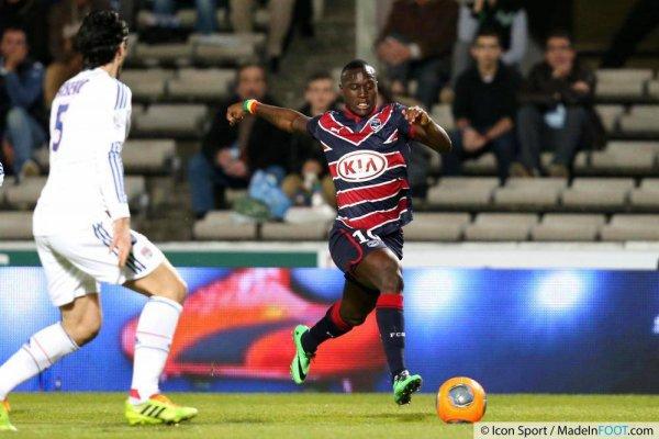 Maillot 2013/2014 porté par Henri Saivet en Ligue 1