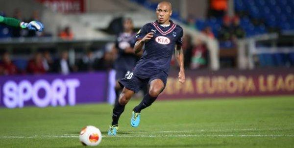 Maillot 2013/2014 porté par Jussié en Europa Ligue