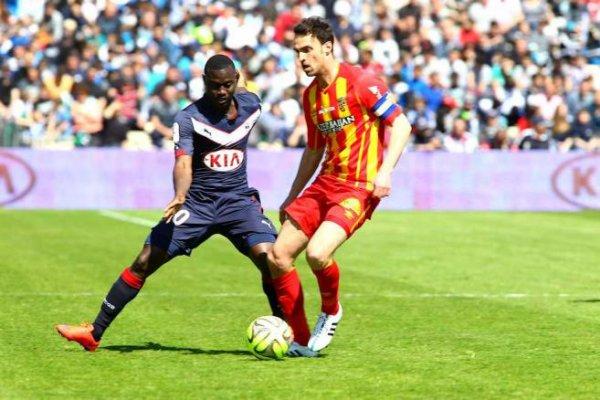 Maillot 2014-2015 porté par Henri Saivet en Ligue 1