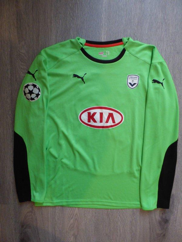 Maillot porté Par Ulrich Ramé Lors de la Saison 2008-2009 Contre l'AS Roma en Ligue des Champions