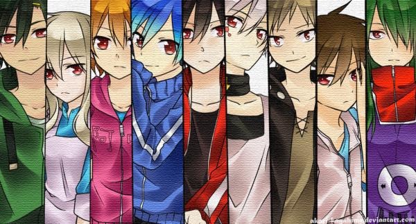 Ma liste de manga/anime, film, série animé, jeux vidéo.
