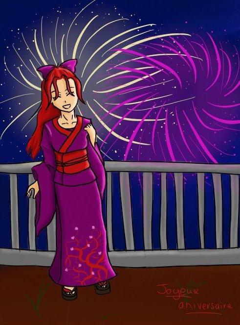 Joyeux anniversaire Sassa ! (bon en retard je sais u.u)