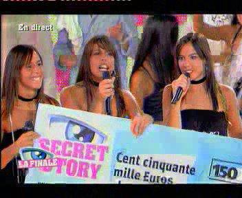 Secret Story Les Triplés ; Johanna / Marjorie / Cyrielle Gagnante