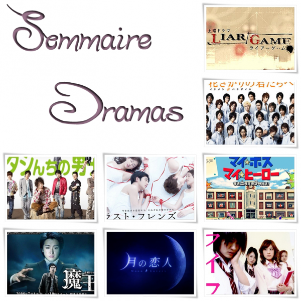 - Sommaire Dramas -