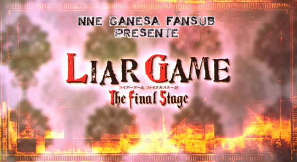 Liar Game ~ The Final Stage (J-Drama)