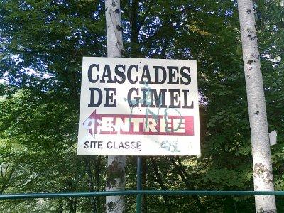 AUX CASCADES DE GIMEL