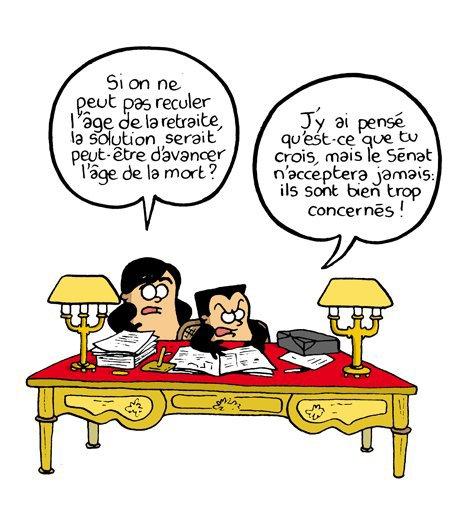 LA RETRAITE (humour)