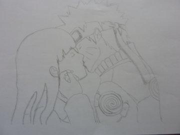 Dessin Naruto Et Hinata Naruto Shippuden Double1310