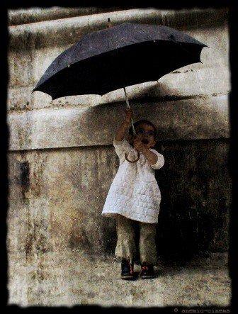 Le beau temps sous la pluie
