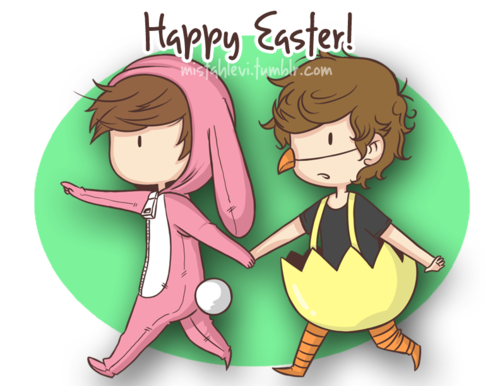 petit dessin  de louis et harry