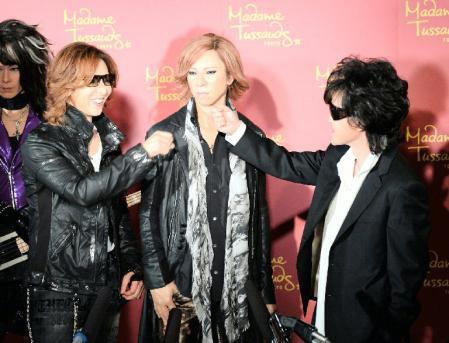 Yoshiki, Toshi et Heath