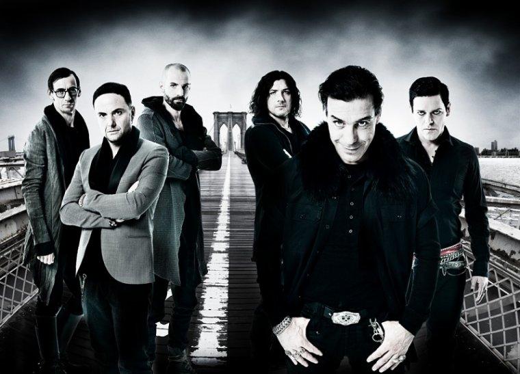 Rammstein, super groupe de métal allemand.