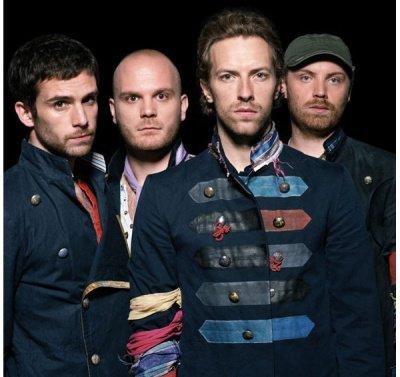 Coldplay, SUPER groupe de rock britannique.